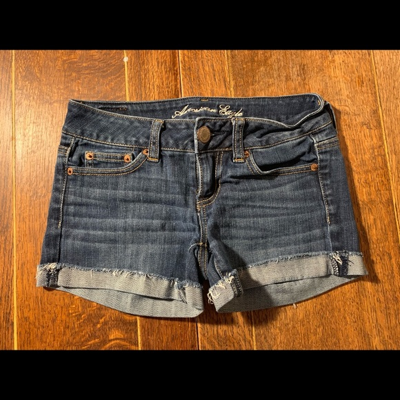 American Eagle Outfitters Pants - AMerican Eagle Stretch Jean Shorts
